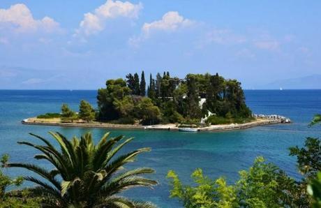 Ile grecque de Corfu (Kerkya )