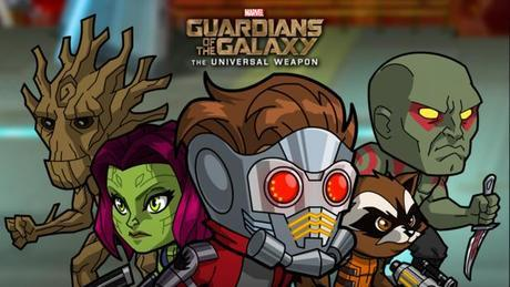 Les Gardiens de la Galaxie : l'Arme universelle de Marvel, disponible sur iPhone