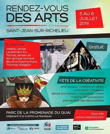 Le Rendez-vous des Arts de Saint-Jean  #Art en direct