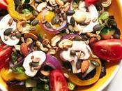 Aujourd'hui, j'ai testé –une salade légumes croquants graines toastées