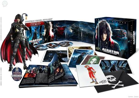 Albator collector [BluRay] : Une édition collector pour Albator  collector BluRay Albator