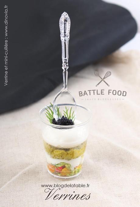 BATTLE FOOD # 22 Verrines