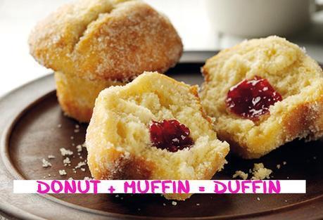 Donut + Muffin = Duffin