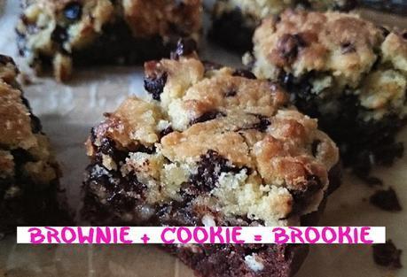 Brownie + Cookie = Brookie