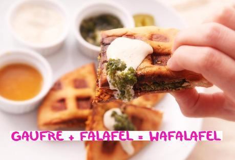 Gaufre + Falafel = Wafalafel