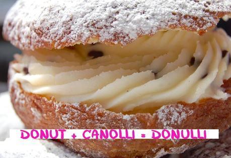 Donut + Canolli = Donulli