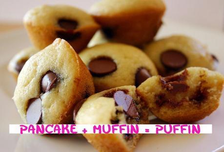 Pancake + Muffin = Puffin