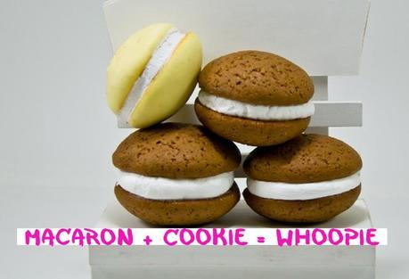 Macaron + Cookie = Whoopie