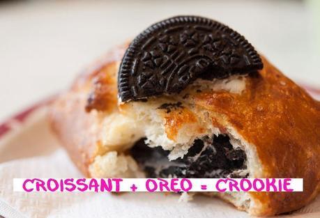 Croissant + Oréo = Crookie