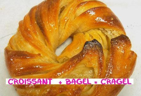 Croissant  + Bagel = Cragel