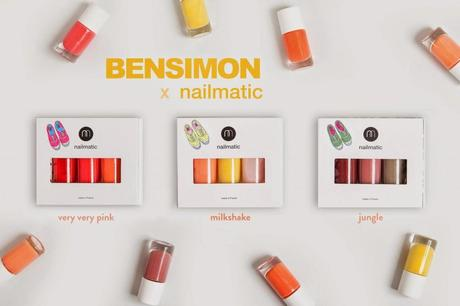 Nailmatic x Bensimon