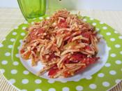 Fideos sauce tomate