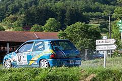 41 - Renault Clio Williams - Florian Mossan et Jean-Christophe Carrel