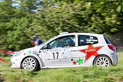 17 - Renault Clio - Benjamin Villaret et Sophie Entz