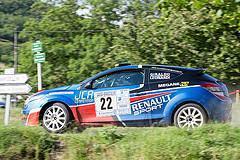 22 - Renault Megane - Michel Giraldo et Christian Leonardi