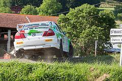 28 - Mitsubishi Lancer Evo VI - Jean-Louis Moreno et Nicolas Boulloud