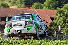 27 - Subaru Impreza - Dominique Bargeron et Ludovic Bargeron