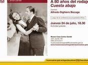 Demain, conférence Cuesta Abajo, quatre-vingts après tournage Article 3800 l'affiche]