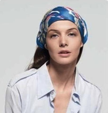 comment porter le foulard de façon paysanne