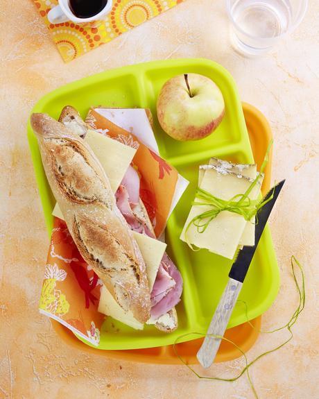 Cantal AOP, Inspiration : Sandwich Jambon, beurre, Cantal Entre Deux