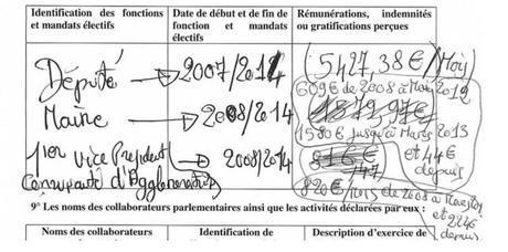 Image extraite de la déclaration d'Eric Jalton, député de la Guadeloupe. (Capture d'écran/Le Nouvel Observateur)