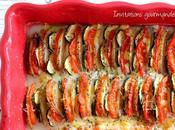 Tian pommes terre, tomates, courgettes mozzarella