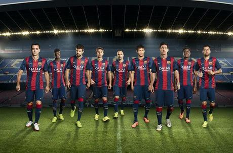 Les 10 clubs de foot les mieux habillés sur le terrain pour la saison 2014-2015
