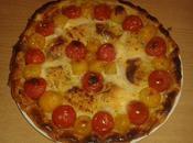Tarte Crottin Chèvre Tomates Cerises