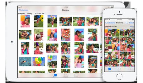 iOS 8 app photos