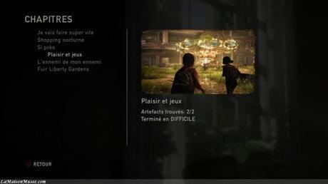 6 chapitres font parties du DLC