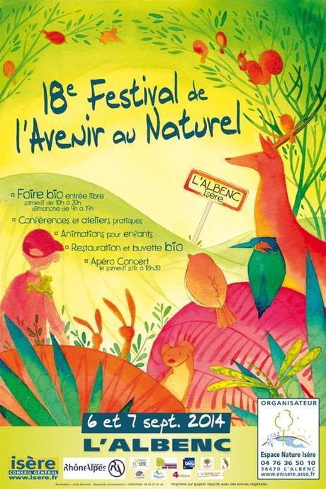 Café littéraire avec André Bucher, Festival de l'Avenir au Naturel de l'Albenc, 6 septembre