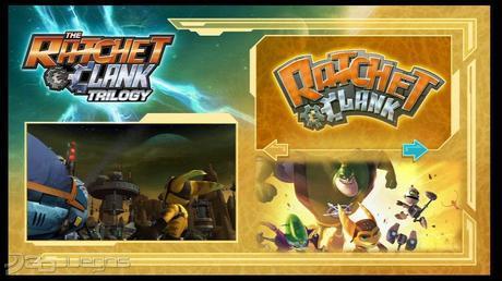 Ratchet & Clank trilogy PS Vita