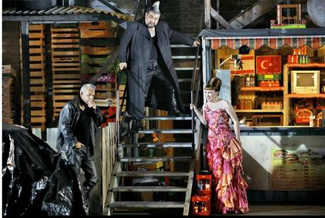Les Gibichungen  © Bayreuther Fespiele/Enrico Nawrath (2013)