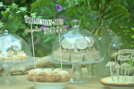 Woodland Vintage Sweet Table