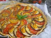Tarte tomates aubergine