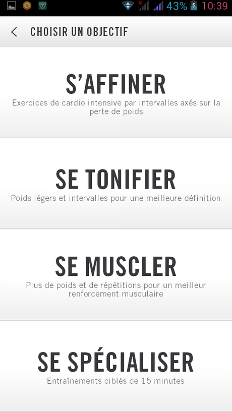 Test : Le Nike Training Club ou NTC