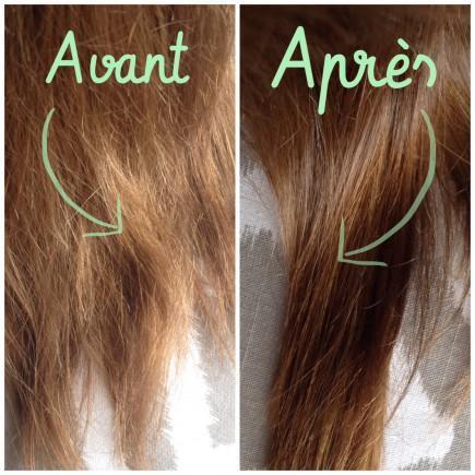 Mes cheveux, avant / après