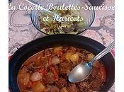 Cocotte Boulettes-Saucisses Haricots