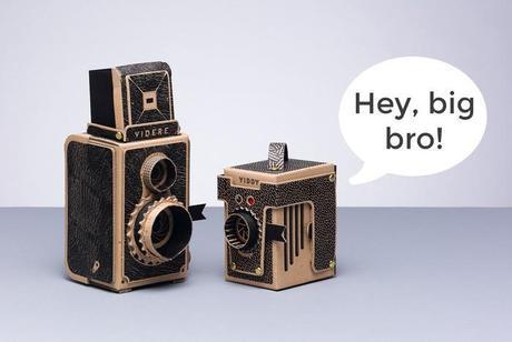 PHOTOGRAPHIE : Viddy l'appareil photo en carton