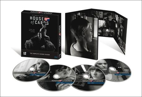 Photo coffret house of cards saison 2