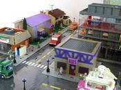 fabrique ville Springfield LEGO