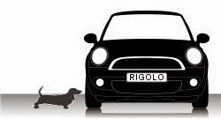 Mini Cooper contre basset