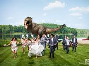 Invité mariage, Jeff Goldblum recrée scène Jurassic Park