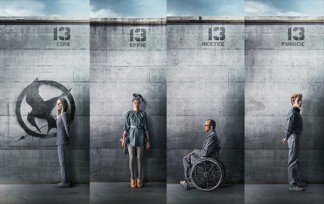 MOVIE | Hunger Games 3 : Des affiches pour les personnages du District 13 !