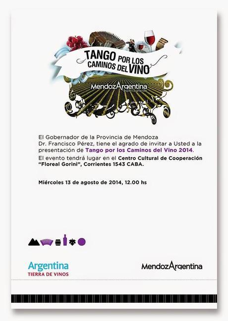 Tango Por los caminos del Vino: un nouveau festival au CCC [à l'affiche]