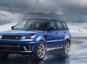Range Rover Sport SVR: puissance avant tout