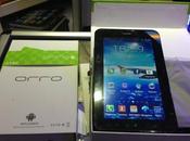 tablette Orro A950 sous Android capable téléphoner
