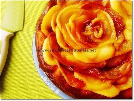 cheese cake vanille pomme caramélisée