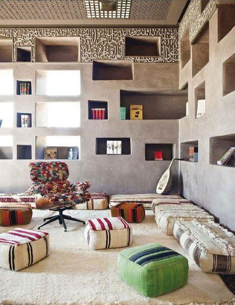 Visite déco : L'hôtel Fellah à Marrakeck