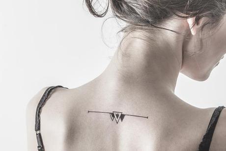 tatouage triange